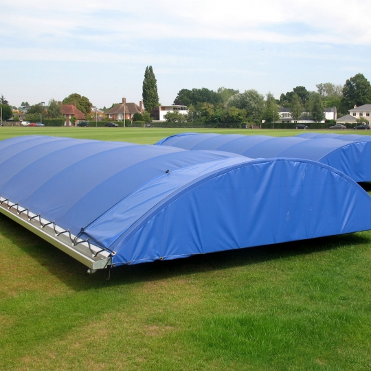 Mobile Cricket Wicket Covers